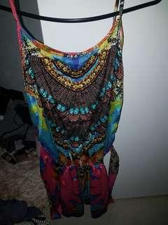 Embellished playsuit