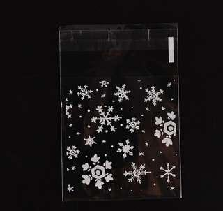 🎄 Christmas Snowflake Gift Bag / Goodies Bag / Cookie Bag