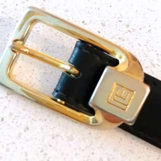 Authentic Vintage Pierre Balmain Ladies Leather Belt