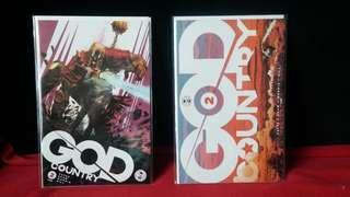 God Country #2-#5 Covers A and B