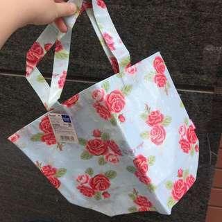 Hello Kitty 輕薄環保袋 玫瑰花