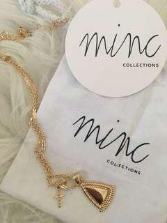 Minc Collections Gold Duo Charm Necklace(originally $29)