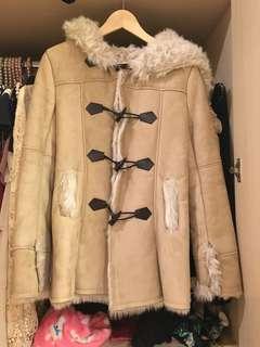 Cecil McBee 日本品牌牛角外套