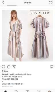 Bevnoir stripe dress