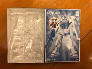 高達Gundam 無雙 亞洲版限定記念品 RX-78–2