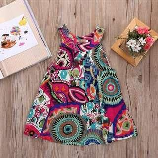 In Stock/PreOrder- Girls Summer Floral Dress