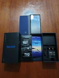 Samsung Galaxy Note 8 with Accessories & Original Box