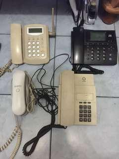 Old/Used Landline and Wireles phone units