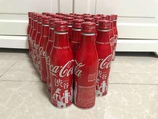[全新] Coca Cola 可口可樂日本限定2018涉谷(渋谷)紀念鋁樽可樂