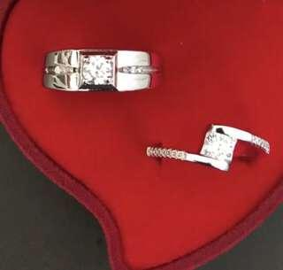 S925 Couple Rings