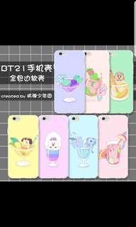 BTS phone case