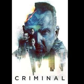 [Rent-A-Movie] CRIMINAL (2016)
