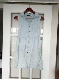 Urban oufitters denim dress