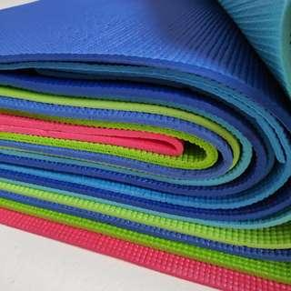 Yoga Mat - assorted colours