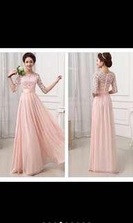 Bridesmaid dress (2 pieces available)