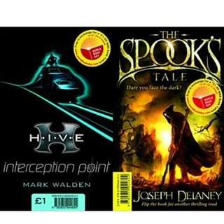 一書兩冊 The Spook's Tale / Interception Point
