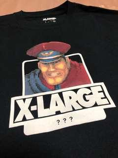 X-large xlarge Japan street fighter M. Bison tee t shirt