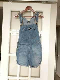 BDG denim overalls
