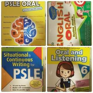 4 Oral and Situational Wtiting Books P5/6