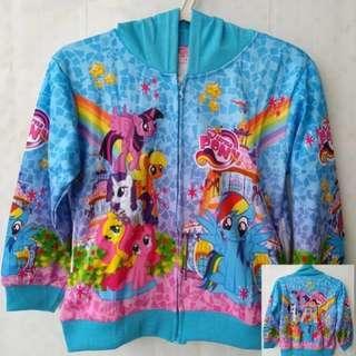 1for$12.90 My Little Pony Pinkie Pie Rainbow Dash Fluttershy Applejack Rarity Twilight sparkle Kids Jacket