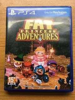 🚚 Ps4 胖公主大冒險 fat princess adventures 胖公主歷險記 中文 中英文合版 光碟無刮 English