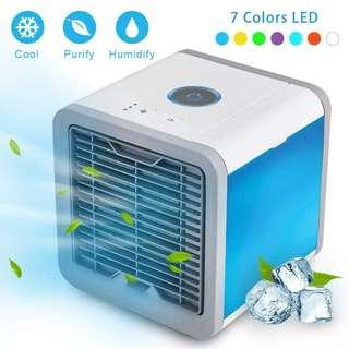 Arctic Air Cond Mini Evaporative Cooler Purifier Conditioner Fan Hot Summer