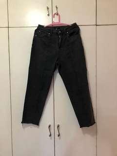 Forever 21 denim black pants size 29