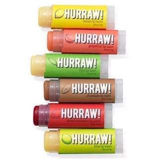 Hurraw! Lip Balm - Raw, vegan & organic!