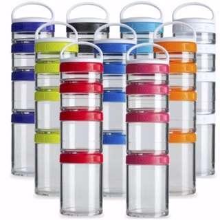 BlenderBottle GoStak Starter 4Pak Containers