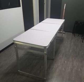Long Heavy Duty Foldable Table Sturdy String Durable
