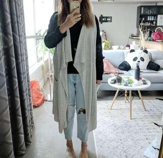 Grey shawl /cardigan