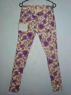 Zara Skinny Floral