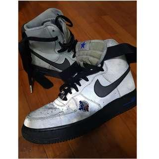 Pre-loved Authentic Nike Air Force 1 Premium Hi 3M Special Edition (Reflective)