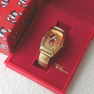 JAPAN RON HERMAN MICKEY MOUSE WATCH GOOD CONDITION 日本  手錶
