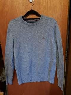 Blue tommy jumper