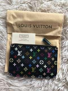 Louis Vuitton Multicolor Key Cles Coin Pouch Holder