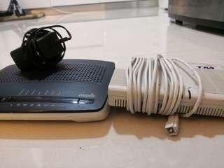 Set Home Fibre Router & Modem