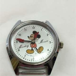 JAPAN MICKEY MOUSE WATCH GOOD CONDITION 日本手錶