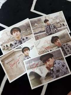 VIXX HELLO STRANGER IN PARIS POSTCARDS (KEN SET)