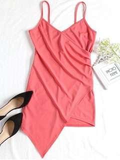 Pink Coral Mini Dress