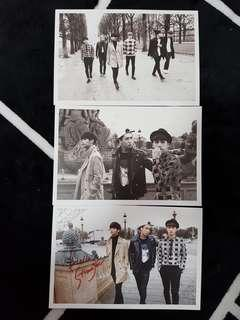 VIXX HELLO STRANGER IN PARIS POSTCARDS
