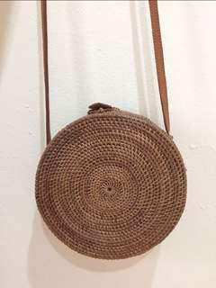 Bali Rattan bag (medium)