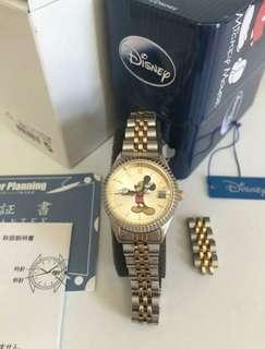 JAPAN SEIKO MICKEY MOUSE GOOD CONDITION 日本 手錶