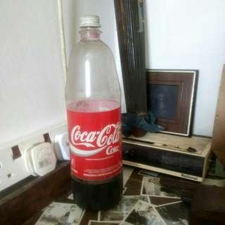 Botol coca cola lama 1.25 liter