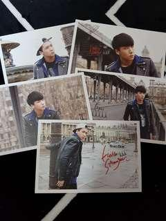 VIXX HELLO STRANGER IN PARIS POSTCARDS (RAVI SET)