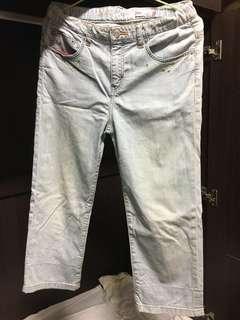 🚚 Levi's 牛仔9分長褲