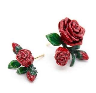 GOOD AFTERNINE rose 18k gold earrings