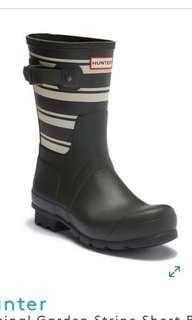 USA 🇺🇸 Original Garden Stripe Short Rain Boot