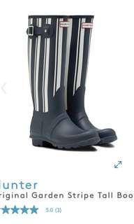 USA 🇺🇸 購 Original Garden Stripe Tall Boot
