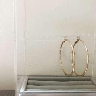 Lovisa Gold Hoop Earrings